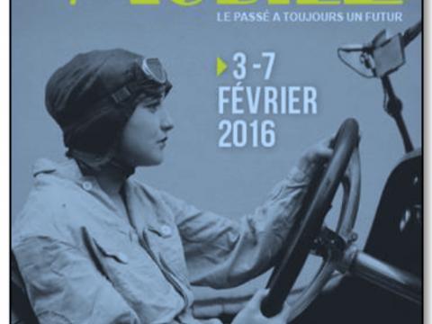 affiche Retromobile 2016