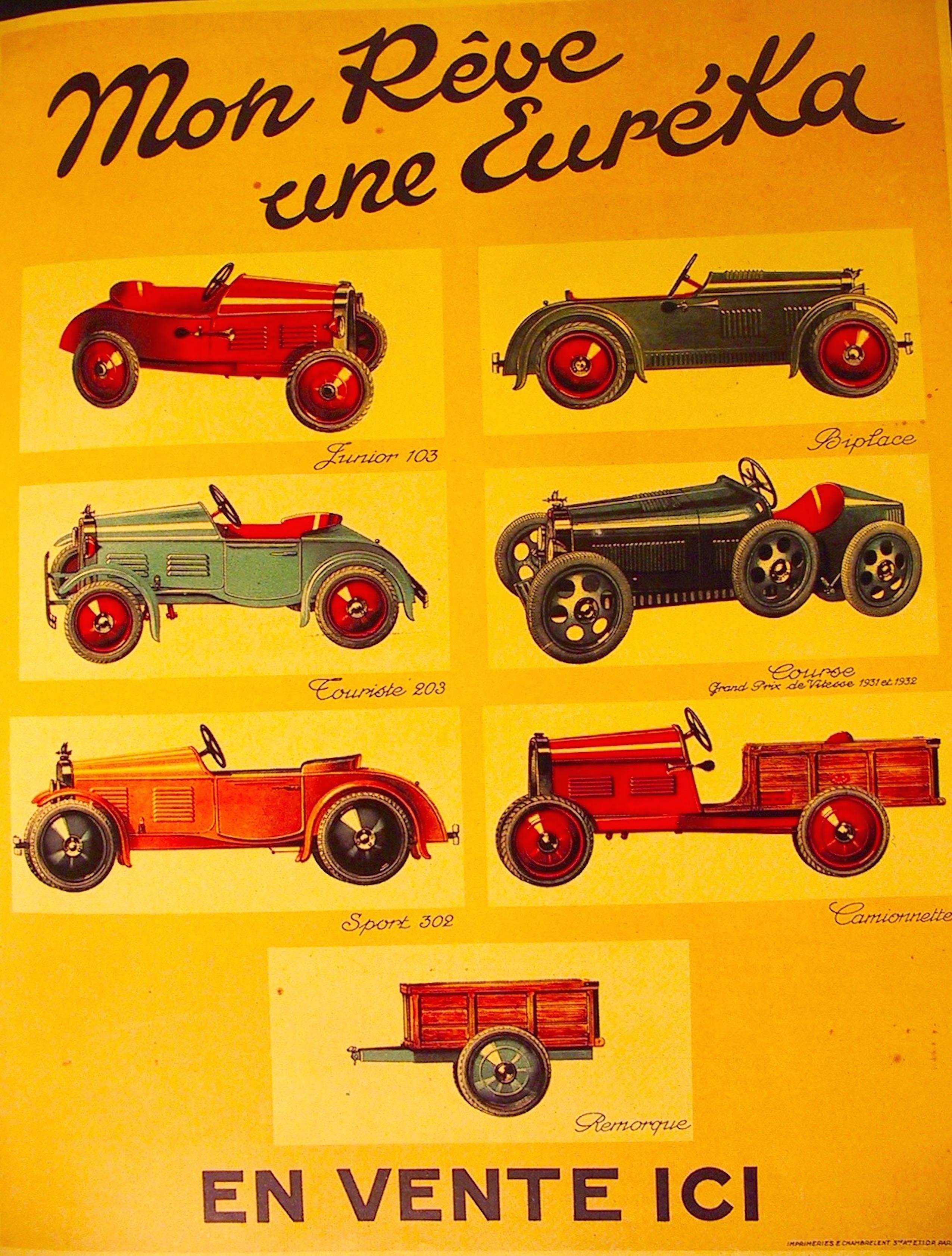 Affiche magasin Euréka